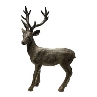 Well-made Standing Deer Figurine, Brown
