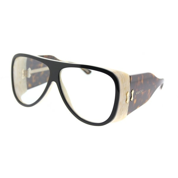 15406300caf Gucci Aviator GG 0149S 002 Unisex Black Frame Blue Lens Sunglasses