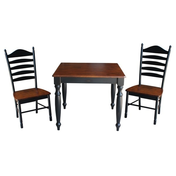 Shop International Concepts 36x36 Dining Table With 2 Tall