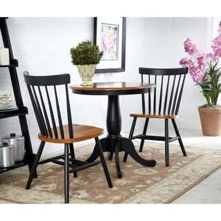International Concepts Round Table with 2 Copenhagen Chairs - Set of 3