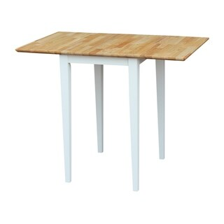 International Concepts Small Dropleaf Table