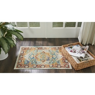 Nourison Cambria Multicolor Area Rug (2'X3')