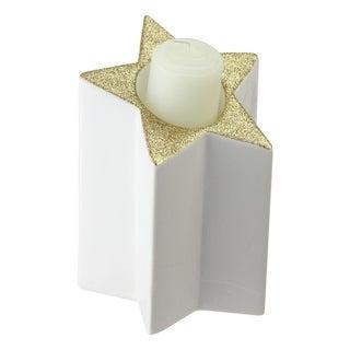 "6.25"" Star Shaped Tea Light Candle Holder"