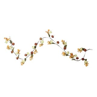 5' Pumpkin and Leaf Autumn Garland - 32627487