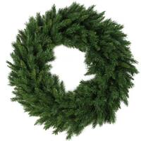 "48"" Lush Mixed Pine Christmas Wreath - Unlit"