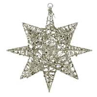 3-Dimensional Star Shaped Christmas Ornament