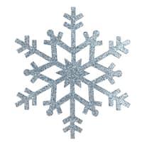 "4.75"" Light Glittered Snowflake Christmas Ornament"