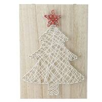 """11"""" """"Crazy String"""" Christmas Tree Wall Decoration"""