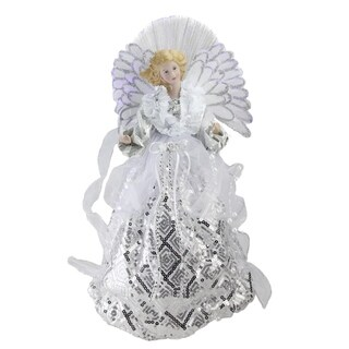 "16"" Angel Gown Christmas Tree Topper - 32623517"