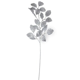 "29.5"" Artificial Metallic Silver Decorative Spray"