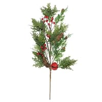 "28"" Decorative Christmas Spray - 32627496"