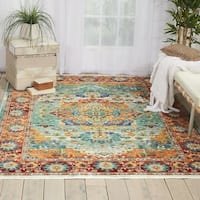 Nourison Cambria Multicolor Area Rug - 3'11 x 5'11