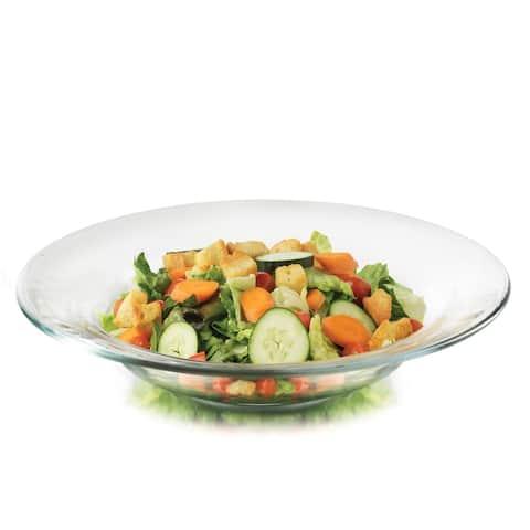 Libbey Moderno Glass Salad Bowls, Set of 12