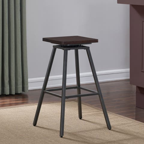 Chalco Swivel Backless Counter Stool by Greyson Living
