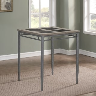 Bexley 36-inch Counter Height Table by Greyson Living - Grey/Pewter