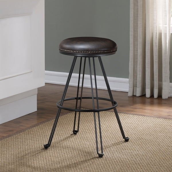 Tolland Swivel Backless Counter Stool by Greyson Living