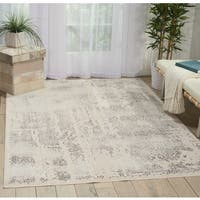 Nourison kathy ireland Silver Screen Ivory/Grey Area Rug - 8' x 10'