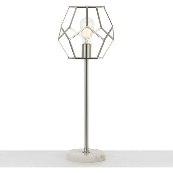 AF Lighting Table Lamp in Brushed Nickel