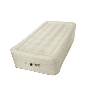 Serta 14-inch Twin-size Airbed with NeverFLAT Fabric Technology