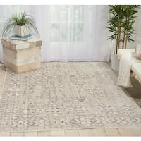 Nourison Kathy Ireland Silver Screen Latte Tan Area Rug (9' x 12') - 9' x 12'