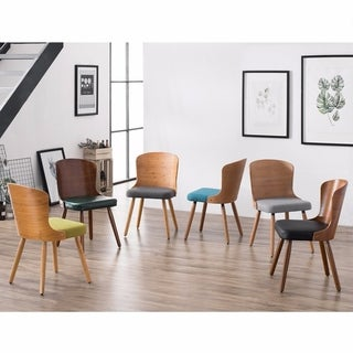 Corvus Calvados Mid-Century Modern Bamboo Dining Chairs (Set of 2)