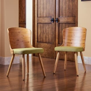 Buy Green Natural Finish Kitchen Dining Room Chairs Online At