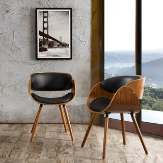 Corvus Contemporary Mid-Century Accent Chair (Set of 2)
