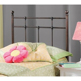 Providence Antique Bronze Metal Twin Headboard and Rails