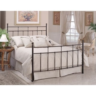 Providence King Bed Set Rails not included, Anitque Bronze