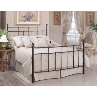 Providence Queen Bed Set Rails included,  Anitque Bronze