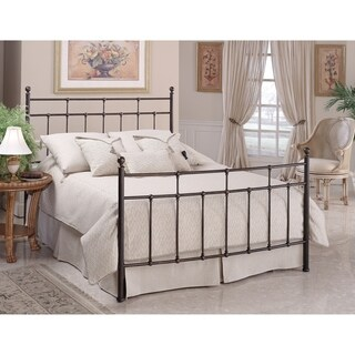 Providence Full Bed Set Rails not included, Anitque Bronze