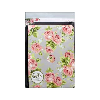 Webster's Pgs CC Insert Comp Note Grey Floral