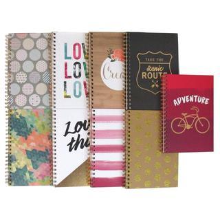 """AMC Journal Assortment 7x10"""" 9 Designs"""