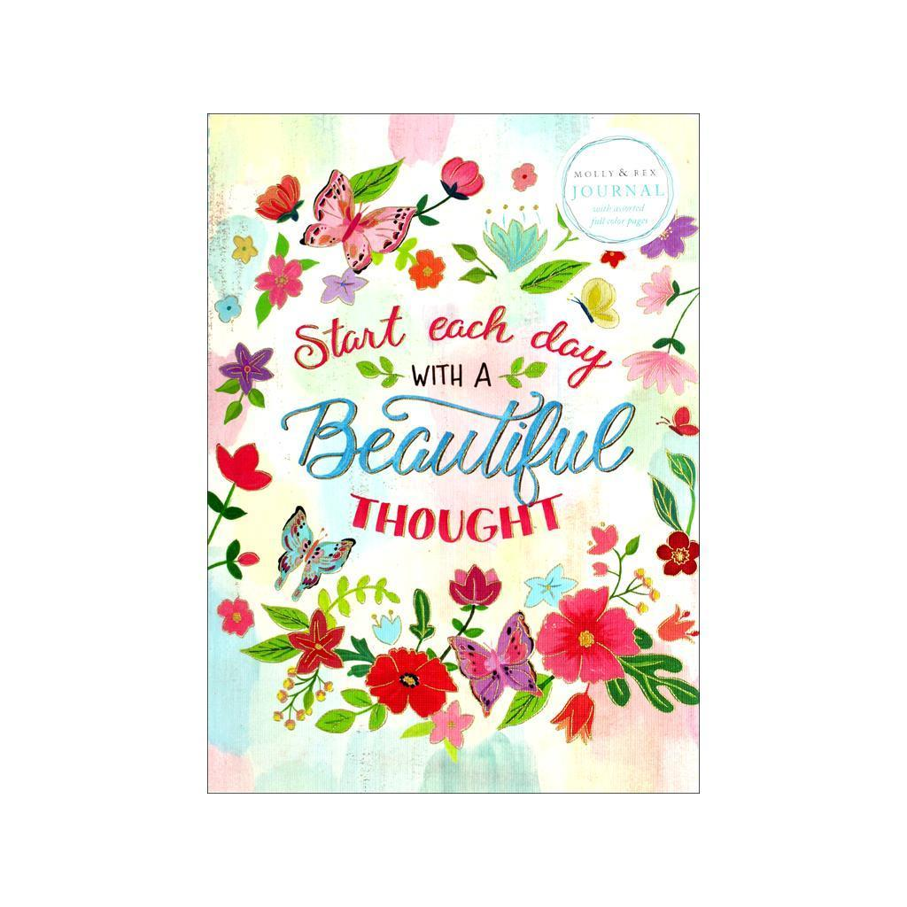 Floral Molly /& Rex Soft Cover Guided Journal 36665