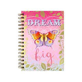 Punch Studio Journal Spiral Dream Big