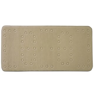 "Deluxe Waffle Tub Mat 17""x36"" (Grey, White or Taupe)"