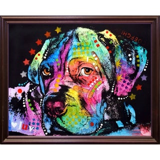 "Young Mastiff Framed Print 7""x8.75"" by Dean Russo (2 options available)"