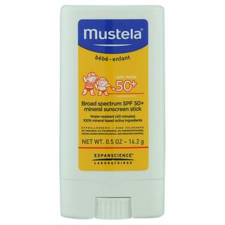 Mustela Mineral Sunscreen Stick 50+|https://ak1.ostkcdn.com/images/products/18526683/P24635450.jpg?impolicy=medium