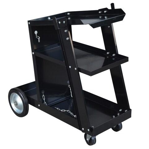 Steel Core Deluxe Mig/Flux Welding Cart