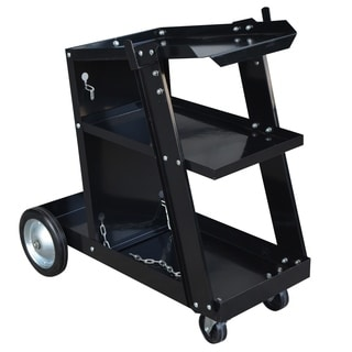Steel Core Deluxe Mig/Flux Welding Cart