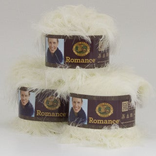 Lion Brand Yarn Romance Antique Lace 325-098 3 Pack Novelty Yarn