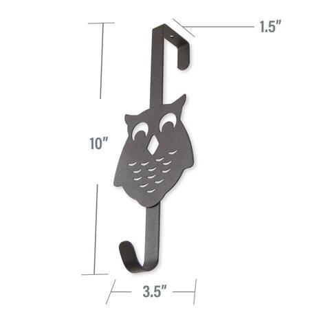 InStyleDesign Over the Door Owl Single Hook