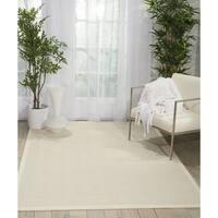 Nourison Kiawiah Ivory Wool Area Rug - 9' x 12'