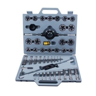 Steel Core 45 Piece Tungsten Steel Tap & Die SAE