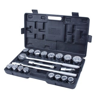 Steel Core 21pc 3/4in Drive Heavy Duty Jumbo Socket Set with BMC