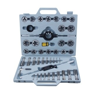 Steel Core 45 Piece Tungsten Steel Tap & Die METRIC