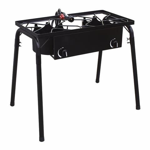 Outdoor Double High Pressure Burner Stand Stove