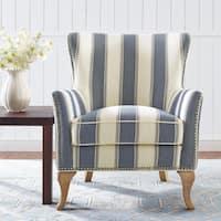 Avenue Greene Terri Blue Accent Chair