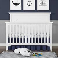Avenue Greene Tennessee White 4-in-1 Convertible Crib