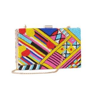 Handmade Meera Beaded Clutch Bag (India)